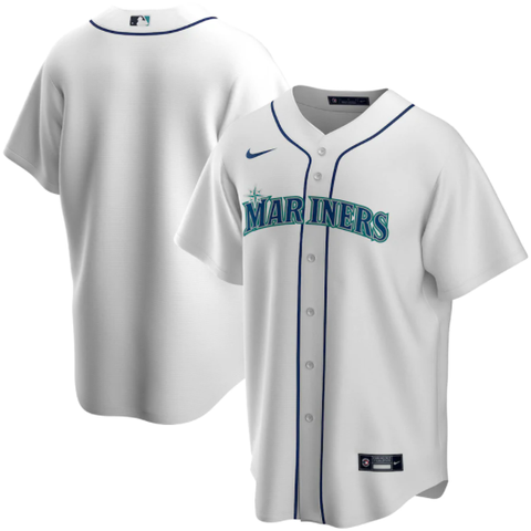 Nike Seattle Mariners Home White Replica Jersey