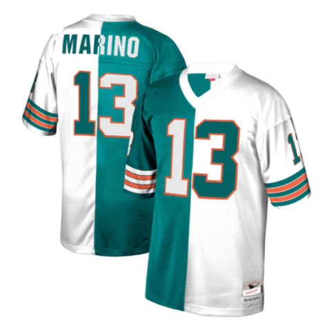 Mitchell & Ness Miami Dolphins Dan Marino Legacy Jersey Split Color