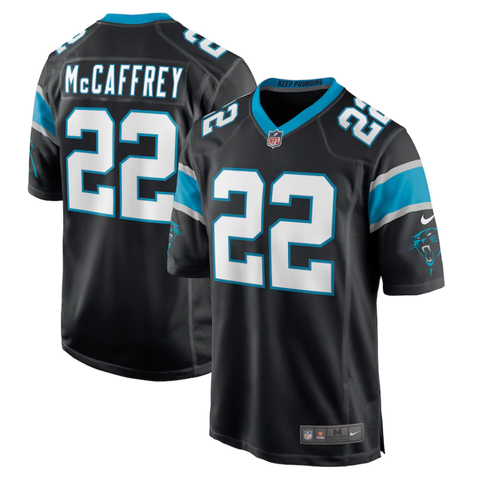 Nike Carolina Panthers Home Game Jersey - Christian McCaffrey