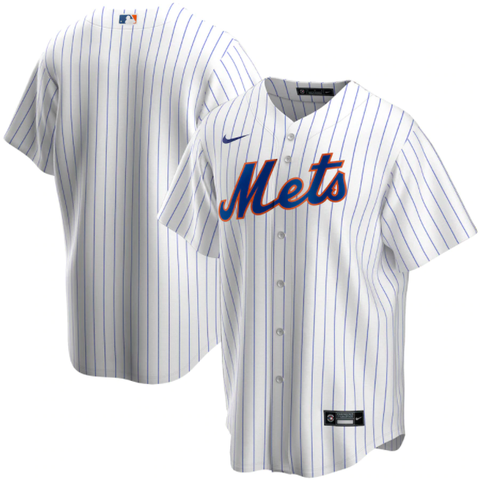 Nike New York Mets Home White Replica Jersey