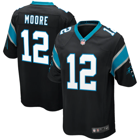 Nike Carolina Panthers Home Game Jersey - D.J. Moore