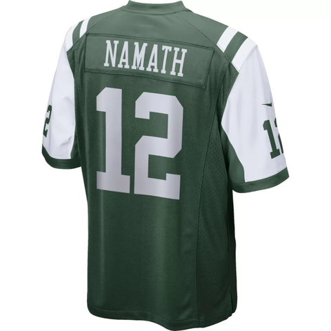 Nike New York Jets Home Game Jersey - Joe Namath
