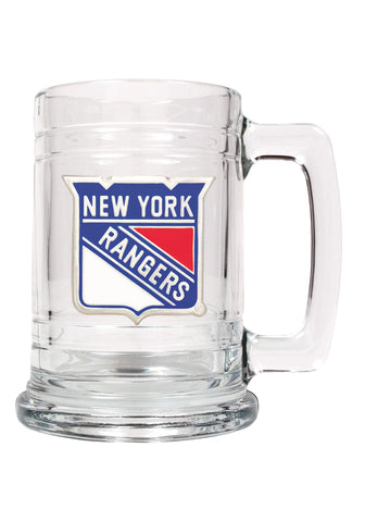 Great American Glass Beer Stein New York Rangers