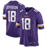 Nike Minnesota Viking Home Game Jersey - Justin Jefferson