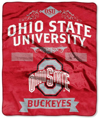Northwest 50x60 Plush Ohio State Buckeyes