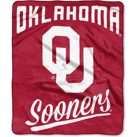 Northwest 50x60 Plush Oklahoma Sooners