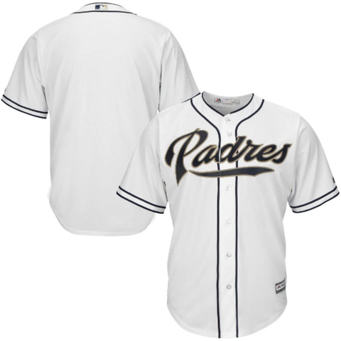 Majestic San Diego Padres Home White Replica Jersey