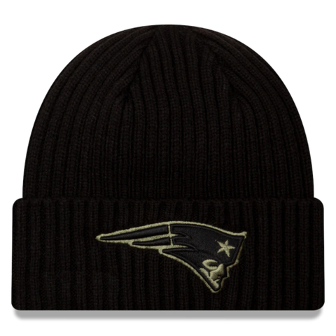 New Era 2020 Salute to Service Knit Hat - New England Patriots