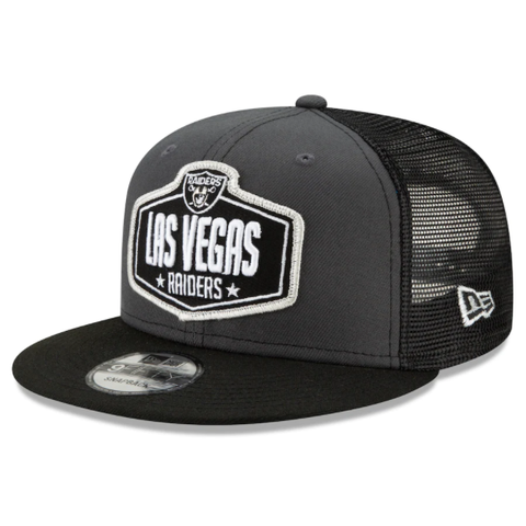 New Era 2021 NFL Draft Snapback - Las Vegas Raiders