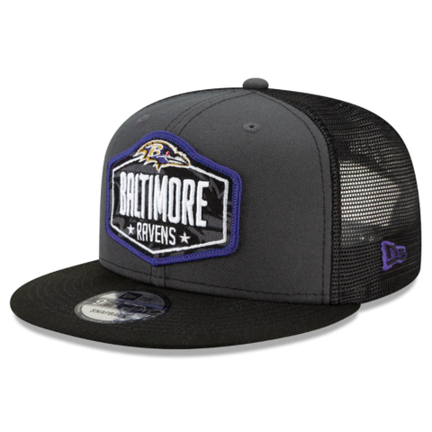 New Era 2021 NFL Draft Snapback - Baltimore Ravens