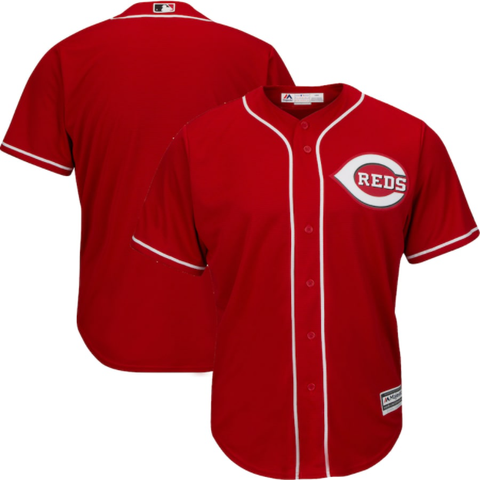 Majestic Cincinnatti Reds Alternate Red Replica Jersey