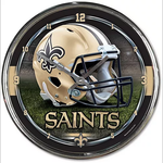 Wincraft Chrome Clock New Orleans Saints