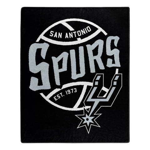 Northwest 50x60 Plush San Antonio Spurs