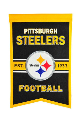 Winning Streak Franchise Banner Pittsburgh Steelers