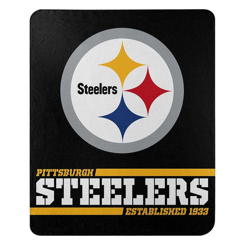 Northwest Fleece Throw Pittsburgh Steelers
