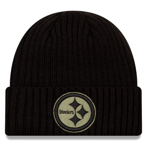 New Era 2020 Salute to Service Knit Hat - Pittsburgh Steelers