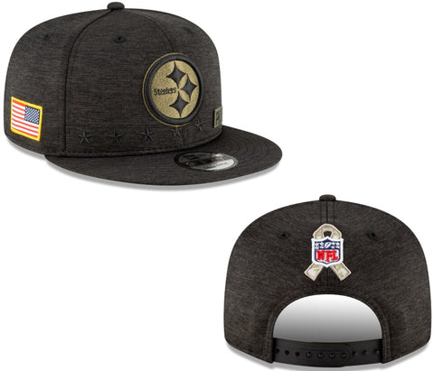 New Era Salute To Service 950 Snapback - Pittsburgh Steelers