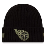 New Era 2020 Salute to Service Knit Hat - Tennessee Titans