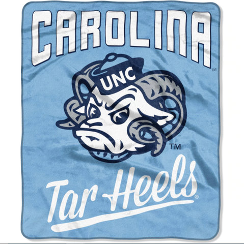 Northwest 50x60 Plush North Carolina Tar Heels
