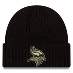New Era 2020 Salute to Service Knit Hat - Minnesota Vikings