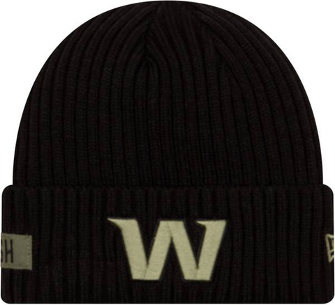 New Era 2020 Salute to Service Knit Hat - Washington Football Team