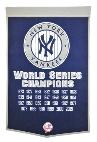 Winning Streak Dynasty Banner New York Yankees