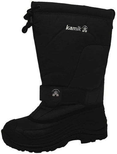 Kamik Men's Greenbay 4 Cold Weather Boot,Black,US