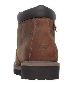 Skechers USA Men's Verdict Men's Boot,Dark Brown