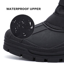 Load image into Gallery viewer, ALEADER Winter Boots for Men, Waterproof Snow Boots Hiking Shoes Black US