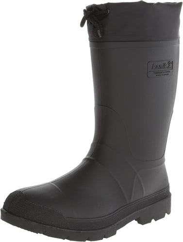 Kamik Men's Hunter-M Knee-High Snow Boot, Black, US