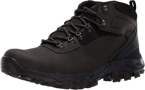 Columbia Men's Newton Ridge Plus II Waterproof Hiking Boot - Wide Black, US