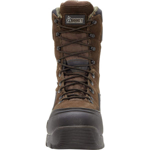 Rocky Men's Blizzard Stalker Pro Hunting Boot,Brown/Black, US