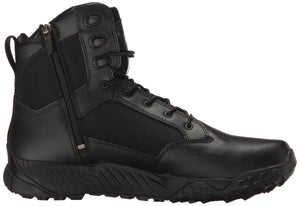 Under Armour Men's Stellar Tac Side Zip Military and Tactical Boot (001)/Black