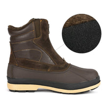 Load image into Gallery viewer, NORTIV 8 Men's 170410 Brown Black Insulated Waterproof Construction Hiking Winter Snow Boots
