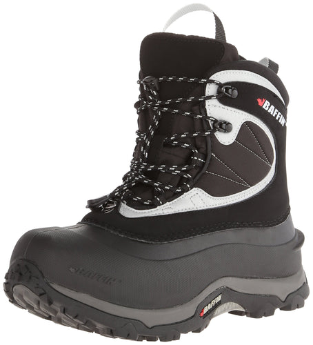 Baffin Men's Yoho-M, Black/Silver Insulated Active Winter Boot