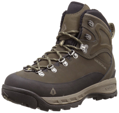 Vasque Men's Snowblime Ultradry Insulated Snow Boot, Black Olive/Brindle