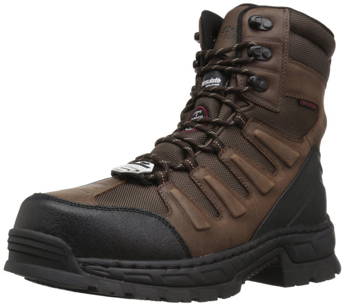 Skechers for Work Men's Vinton Lanham Work Boot,Brown