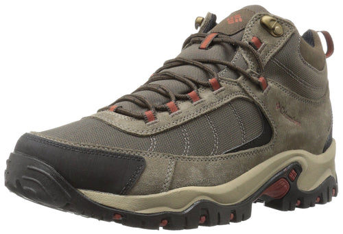 Columbia Men's GRANITE RIDGE MID WATERPROOF WIDE Hiking Shoe, Mud, Rusty
