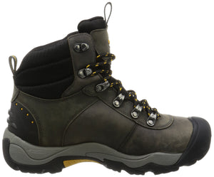 KEEN Men's Revel III Winter Boot, Magnet/Tawny Olive, US