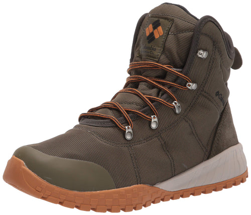Columbia Men's Fairbanks Omni-Heat Snow Boot, nori, Canyon Gold