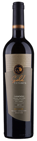 Carmenere Gold Estampa 2013 | 92 Descorchados