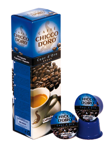 120 Capsule Decaf Cuor D'Oro Caffitaly Chicco D'Oro
