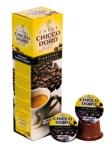 120 Capsule Tradition Caffitaly Chicco D'Oro