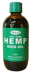 200ml - Pure Hemp Seed Oil