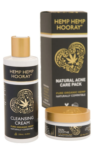 Organic Hemp Natural Acne Care Pack