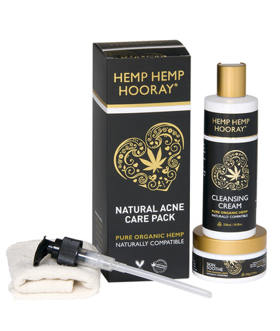 Hemp Hemp Hooray - Natural Acne Care Pack