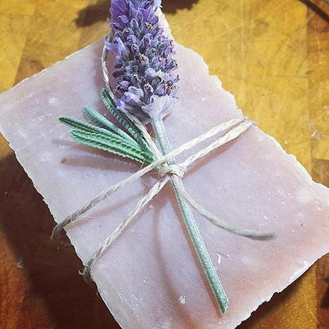 Alisium - Hemp Soap - Lavender with Brazilian Clay