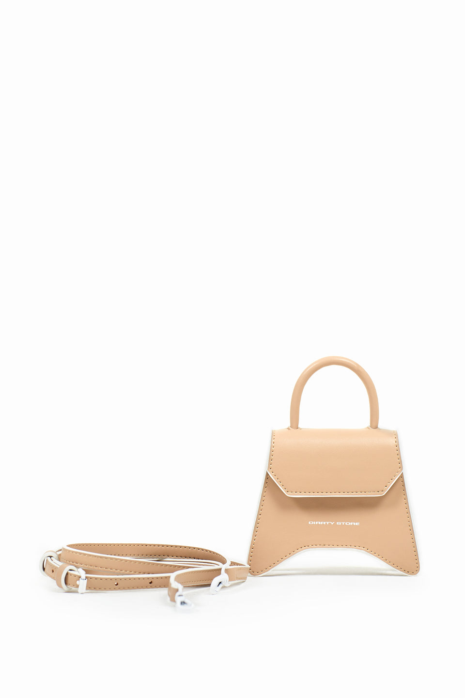 DS Beige Mini Cross Body Bag