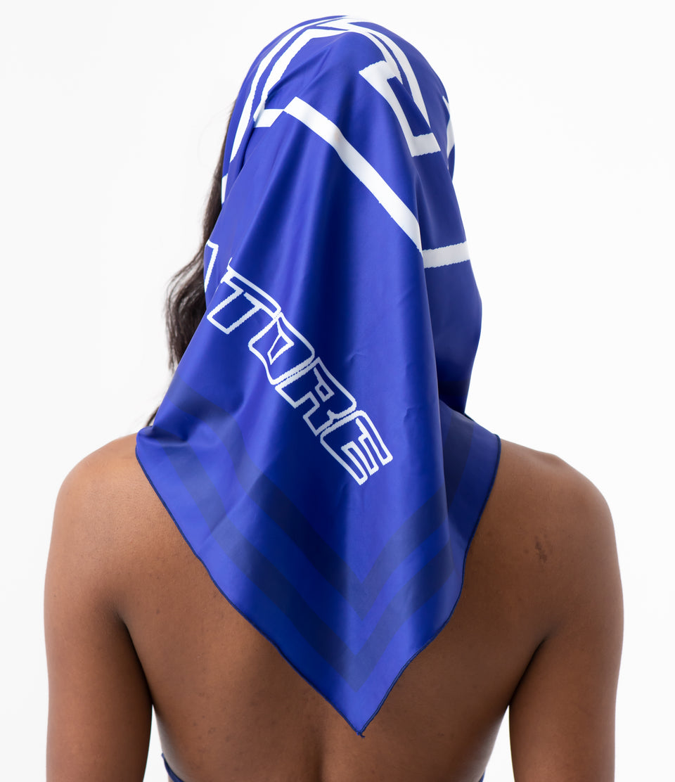 DS Electric Blue Headscarf