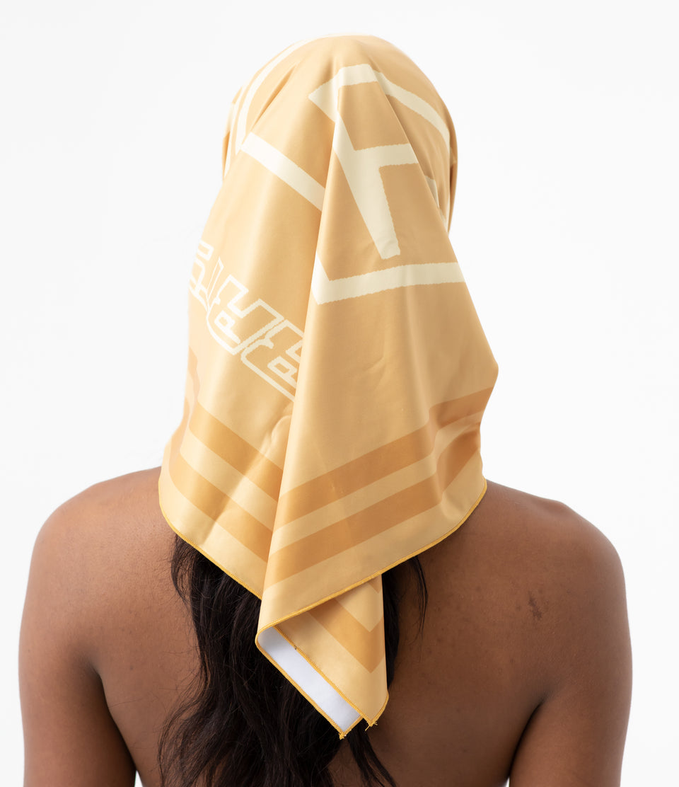 DS Mustard Yellow Headscarf